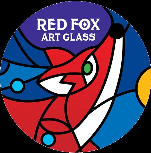 Red Fox Art Glass