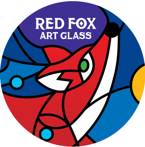 Red Fox Art Glass
